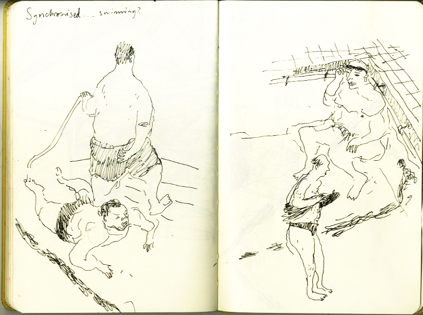 And Its Likely That Story Will Be Set In A Swimming Pool Because I Like Drawing Fat People